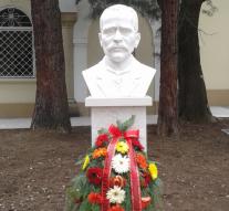 Откриха бюст-паметник на Мито Орозов