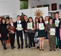 """Наградиха победителите в Националния конкурс  """"Живеем в земята на Ботев"""""""