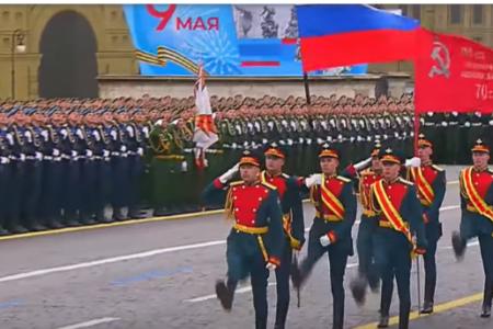 Военен парад  в Москва за  Деня на победата – 9 май
