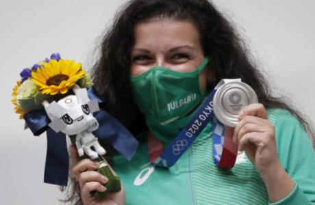 Българката Антоанета Костадинова – със сребърен медал от Олимпийските игри – Токио,2020