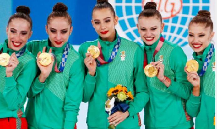 Ансамбълът ни по художествена гимнастика е олимпийски шампион